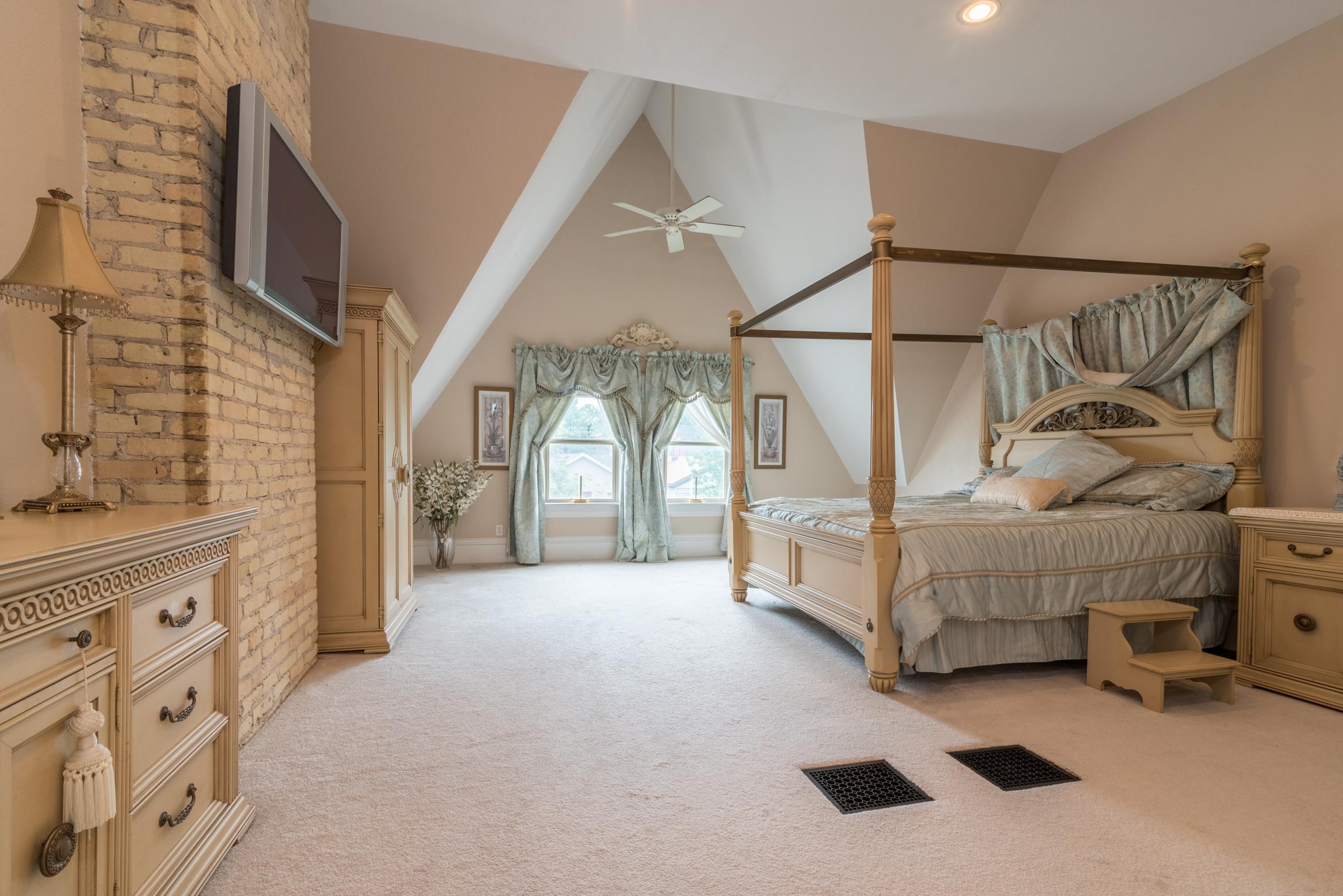 Photography of bedroom by James Meyer Photography jamesmeyerphoto.com Milwaukee Wisconsin