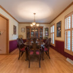 Dining room photography by James Meyer Photography jamesmeyerphoto.com Milwaukee Wisconsin