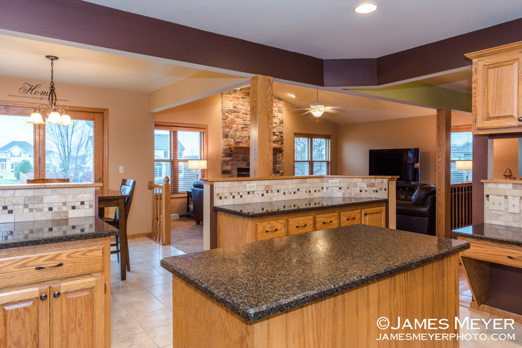 Real estate photography of Germantown WI home for Allana Gonzalez Remax Insight