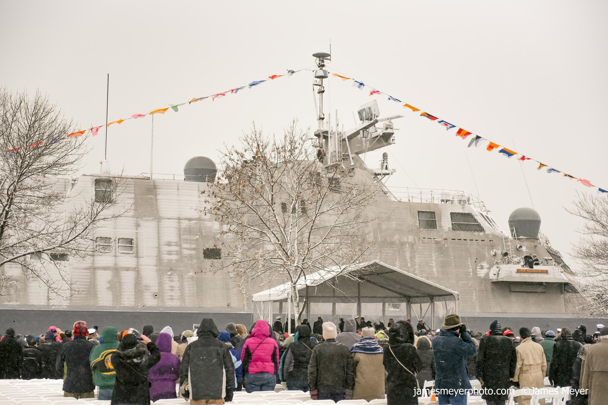 USS Milwaukee Commissioning III