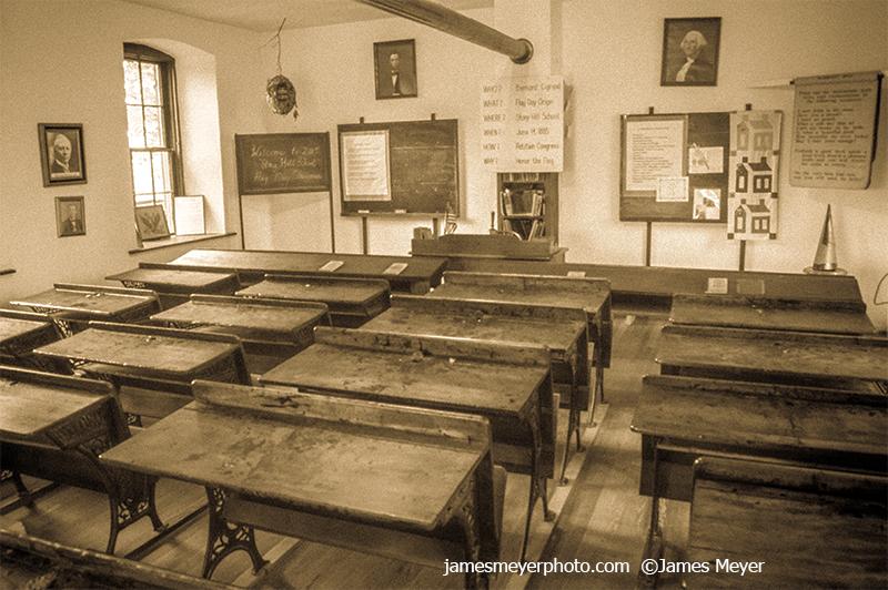 Stony Hill School Desk