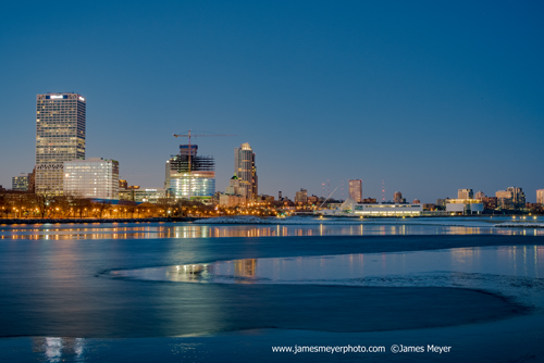 Downtown Milwaukee skyline