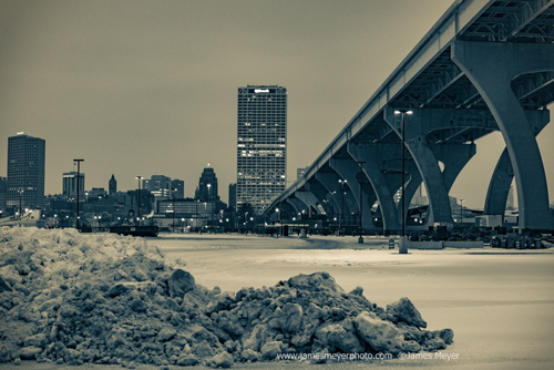 Hoan Bridge overpass