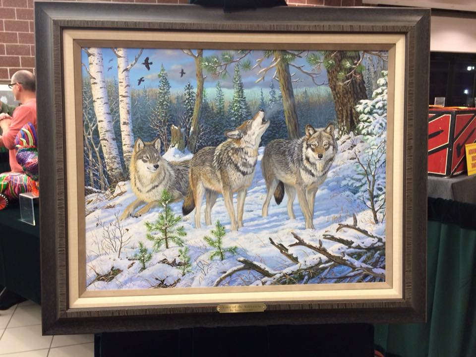 """""""Voice of the Wilderness"""" by Terry Doughty for the Century Collection"""