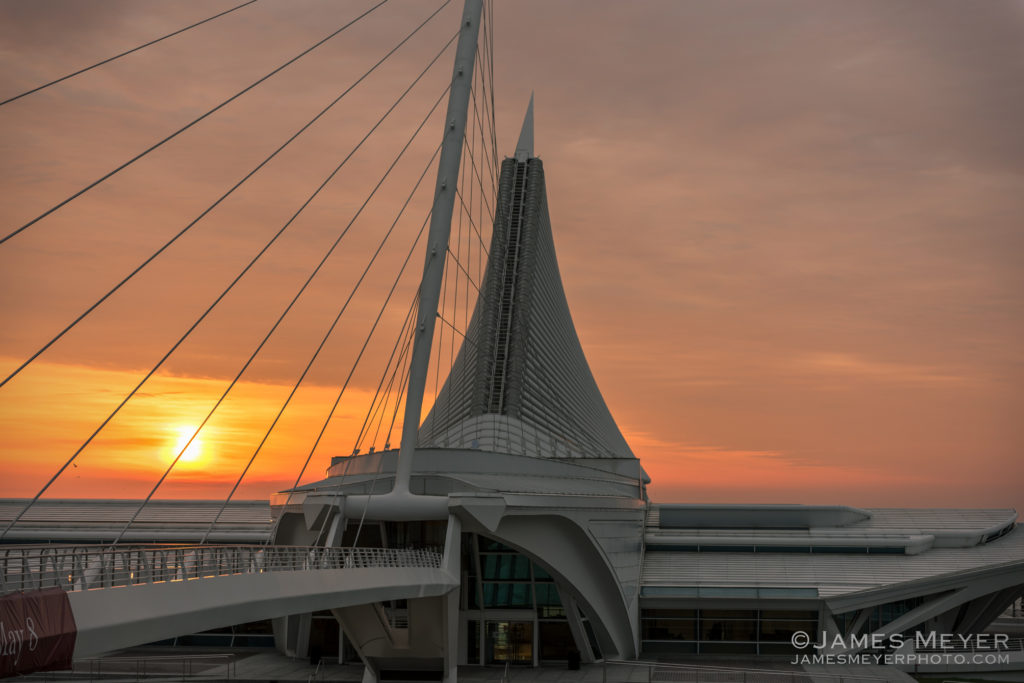Sunrise in Milwaukee WI by James Meyer Photography