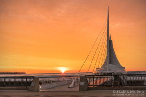Milwaukee sunrise by James Meyer Photography