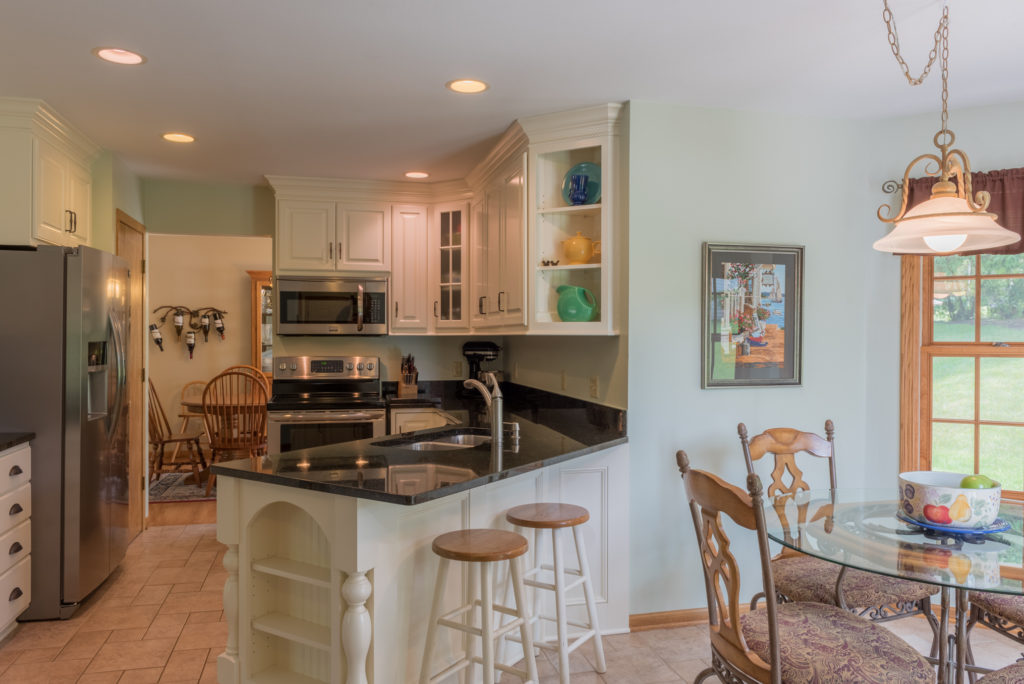 Kitchen photographed for Realtor Josh Perringer of Remax United in Port Washington WI