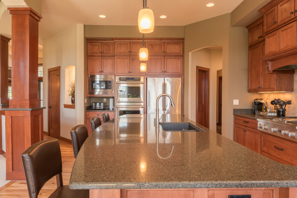 Kitchen photographed for Realtor Andrew Noegel of Remax United in Port Washington WI