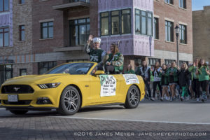 Port Washington homecoming parade 2016