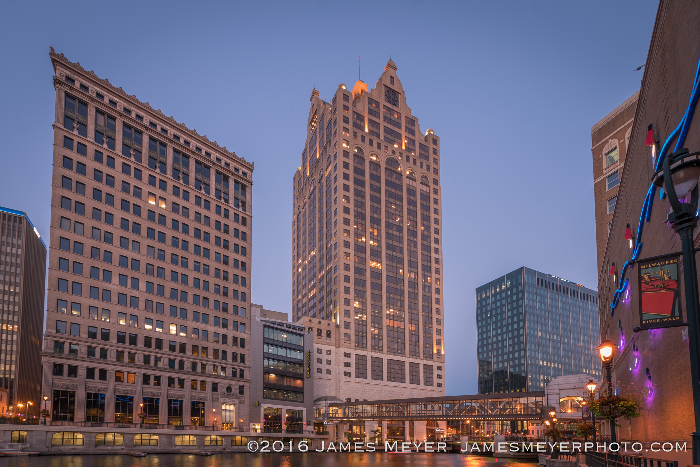 100 East Wisconsin building by James Meyer Photography