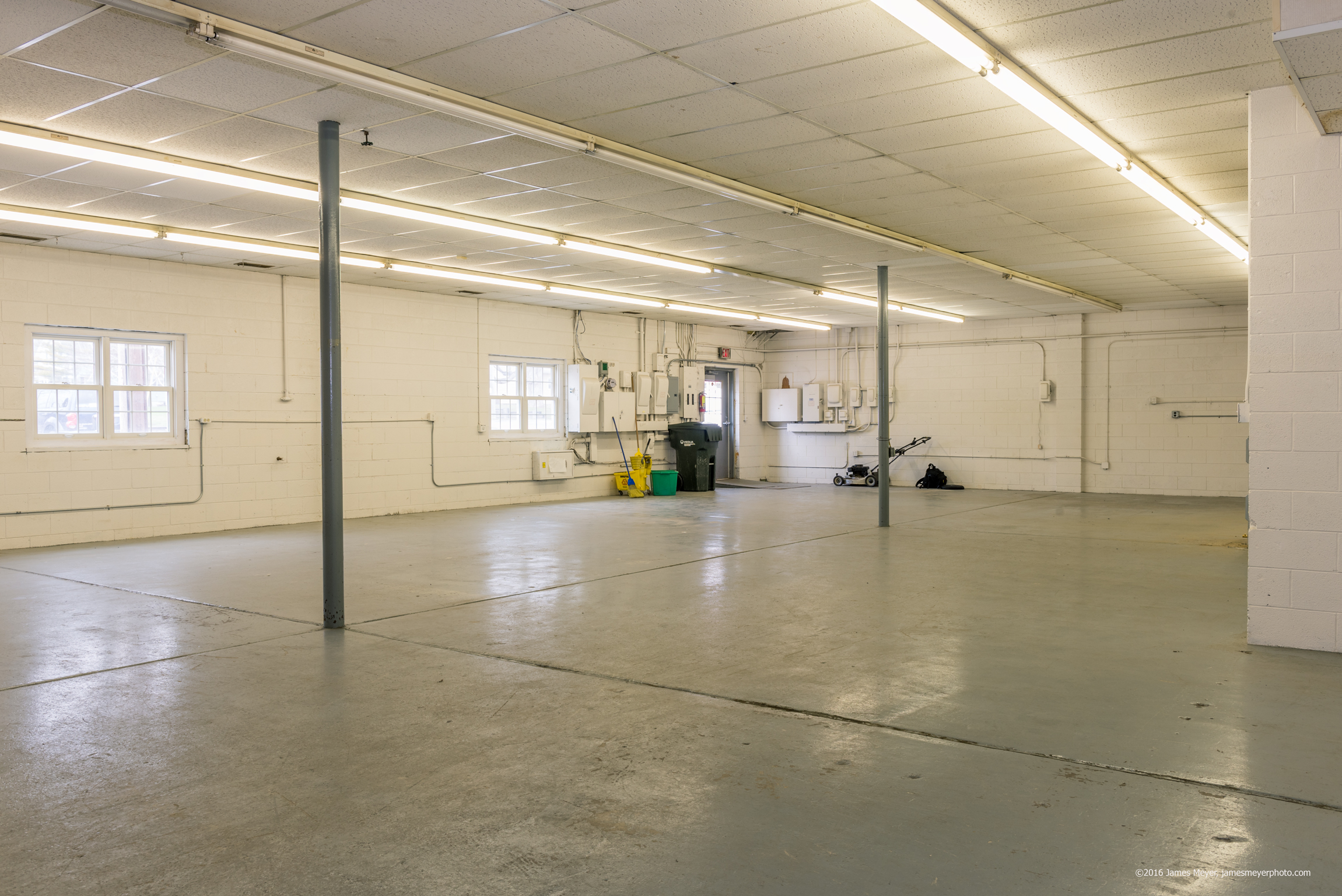 Warehouse space by James Meyer Photography