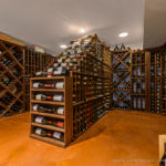 Wine Cellar by Carmel Builders photo by James Meyer Photography